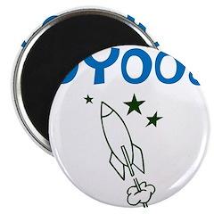 OYOOS Kids Rocket design Magnet