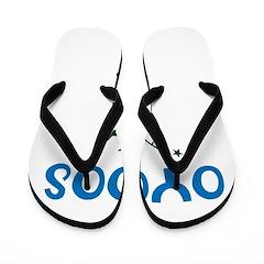 OYOOS Kids Rocket design Flip Flops