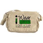 SCT I Wear Green Messenger Bag