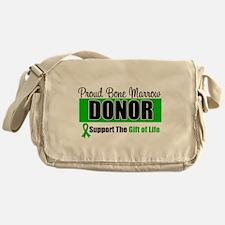 Proud Bone Marrow Donor Messenger Bag