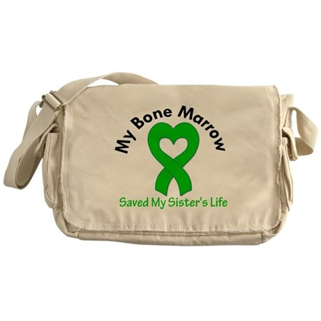 BoneMarrowSavedSister Messenger Bag