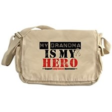 Lung Cancer Hero Grandma Messenger Bag