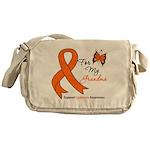 Leukemia Ribbon Grandma Messenger Bag