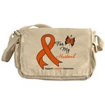 Leukemia Ribbon Husband Messenger Bag