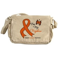 Leukemia Ribbon Nephew Messenger Bag