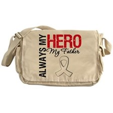 LungCancerHeroFather Messenger Bag