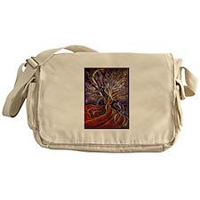 Aura Energy Tree Messenger Bag