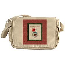 Dental Holidays Messenger Bag