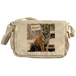 Tiger Meow Messenger Bag