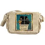 Peeping Tomcat Messenger Bag