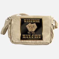 Man Cave Messenger Bag