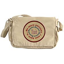 Round Tuit Messenger Bag