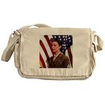 Vintage Army Messenger Bag