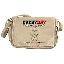 LungCancer MissMyBrother Messenger Bag