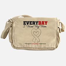 LungCancer MissMyMom Messenger Bag
