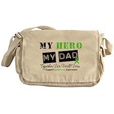 Lymphoma Hero Dad Messenger Bag
