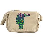 DotDinosaur Messenger Bag