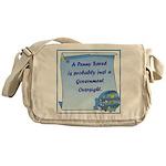 Penny Saved Messenger Bag
