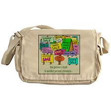 Yard Sales Messenger Bag