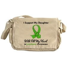 LymphomaSupportDaughter Messenger Bag
