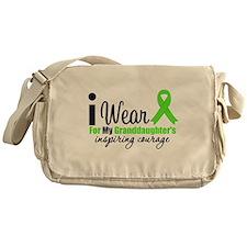 Lymphoma Courage Uncle Messenger Bag