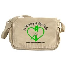 Lymphoma Memory Father Messenger Bag