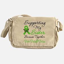 Lymphoma Support (Sister) Messenger Bag