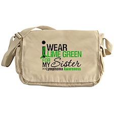 I Wear Lime Green Messenger Bag