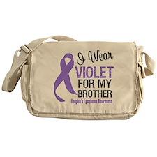 I Wear Violet For Brother Messenger Bag