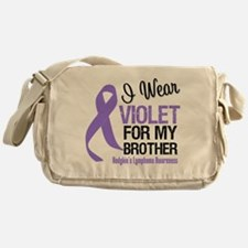 I Wear Violet For Brother Messenger Bag
