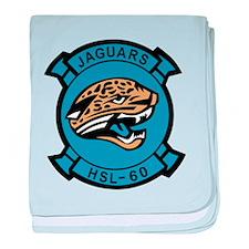 HSL-60 Jaguar baby blanket