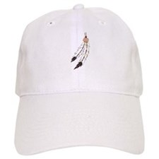 Feather Baseball Cap