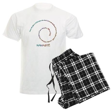 Meaning of Namaste Men's Light Pajamas