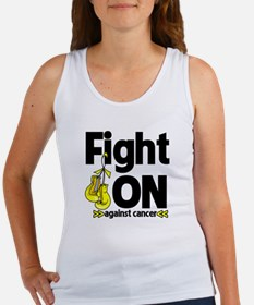 Fight On Testicular Cancer Women's Tank Top