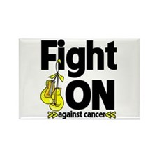 Fight On Testicular Cancer Rectangle Magnet