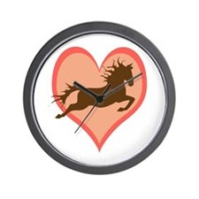 Horse In My Heart Wall Clock