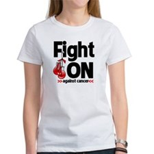 Fight On Oral Cancer Tee