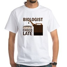 Biologist Chocoholic Gift Shirt