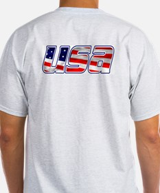 We Support Our Troops Ash Grey T-Shirt