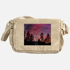 Lakota Great Spirit Prayer Messenger Bag