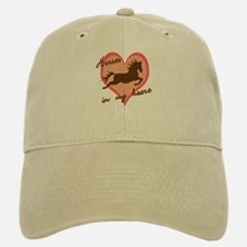 horses in my heart (w/ text) Baseball Baseball Cap
