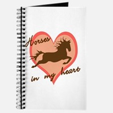 horses in my heart (w/ text) Journal