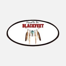 Proud to be Blackfeet Patches