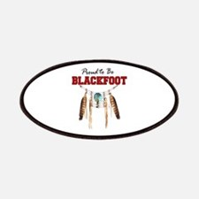 Proud to be Blackfoot Patches