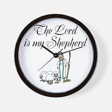 The Lord is my Shepherd Wall Clock