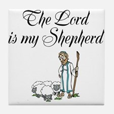 The Lord is my Shepherd Tile Coaster