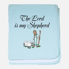The Lord is my Shepherd baby blanket