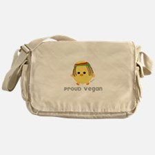 Proud Vegan Messenger Bag