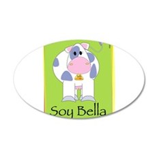Soy Bella 22x14 Oval Wall Peel