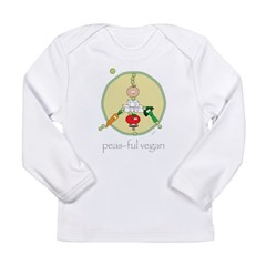 peas-ful vegan Long Sleeve Infant T-Shirt